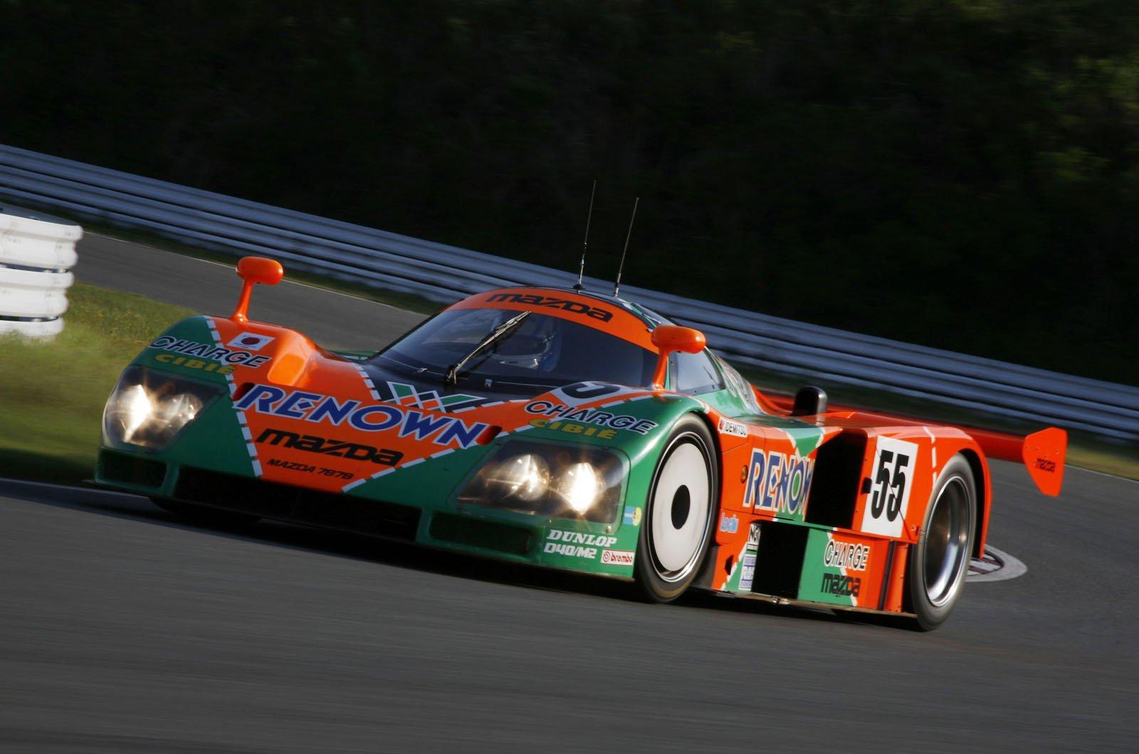 Mazda 787B Le Mans winner