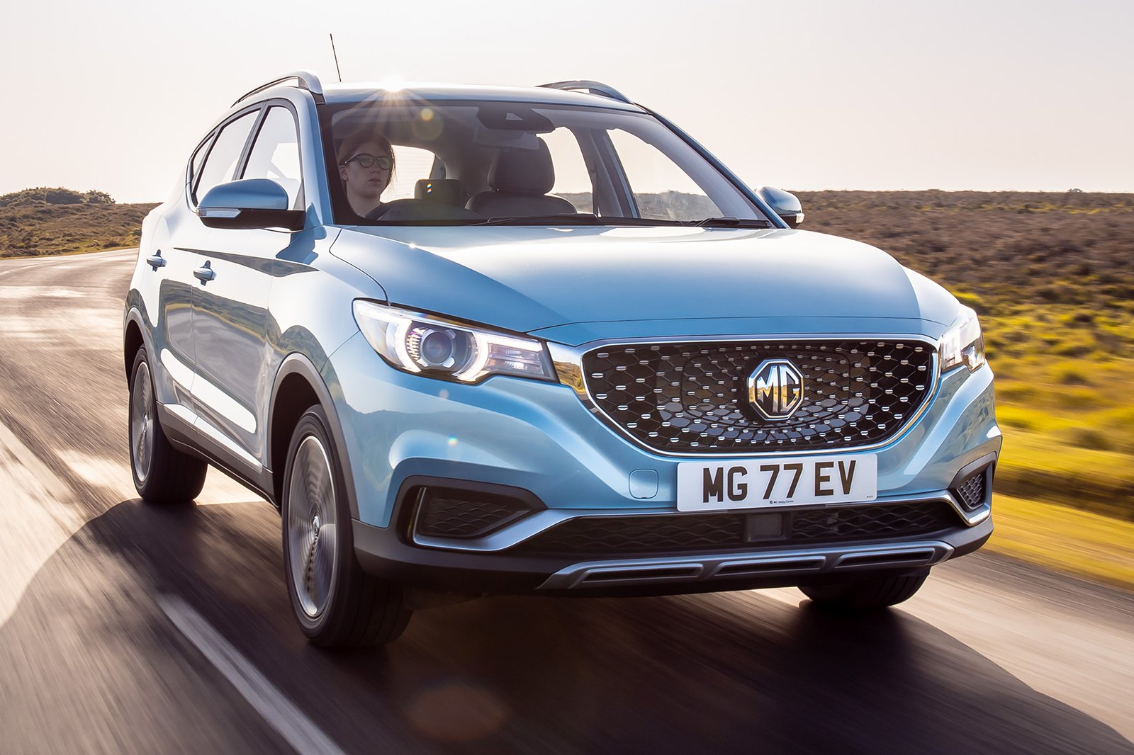 2019 MG ZS EV front 3/4