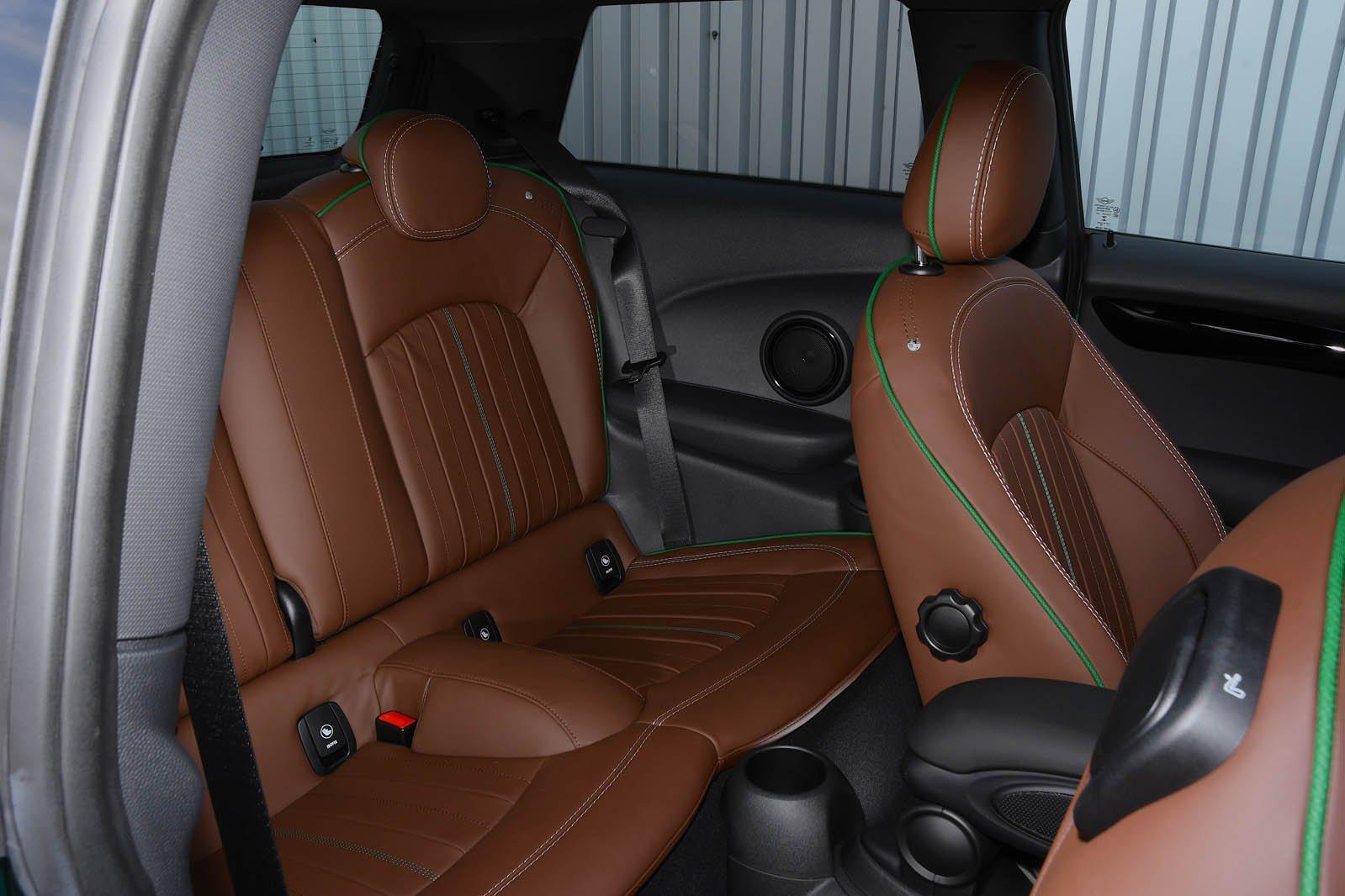 Mini Cooper S 60 Year Edition rear seats