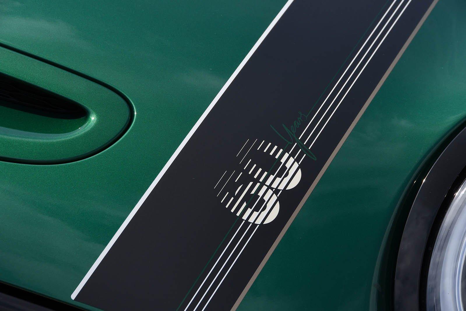 Mini Cooper S 60 Year Edition bonnet