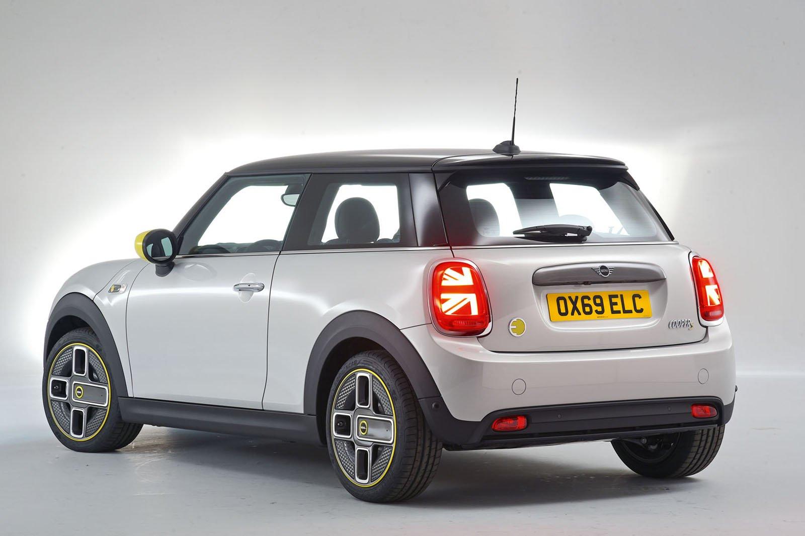2020 Mini Electric rear
