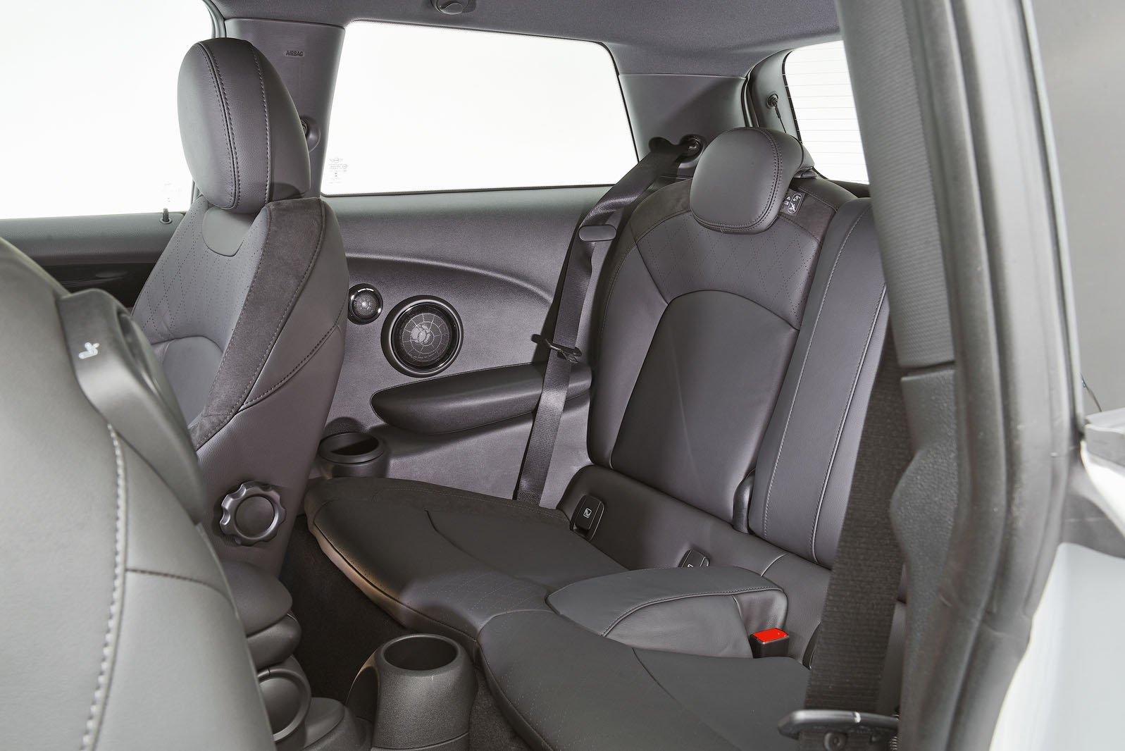 2020 Mini Electric rear seats