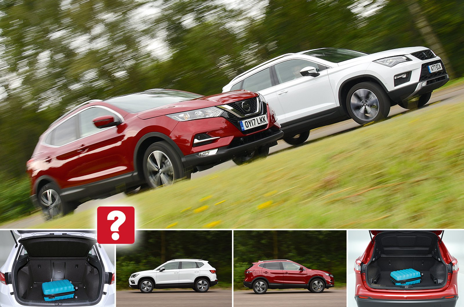 Used test: Nissan Qashqai vs Seat Ateca