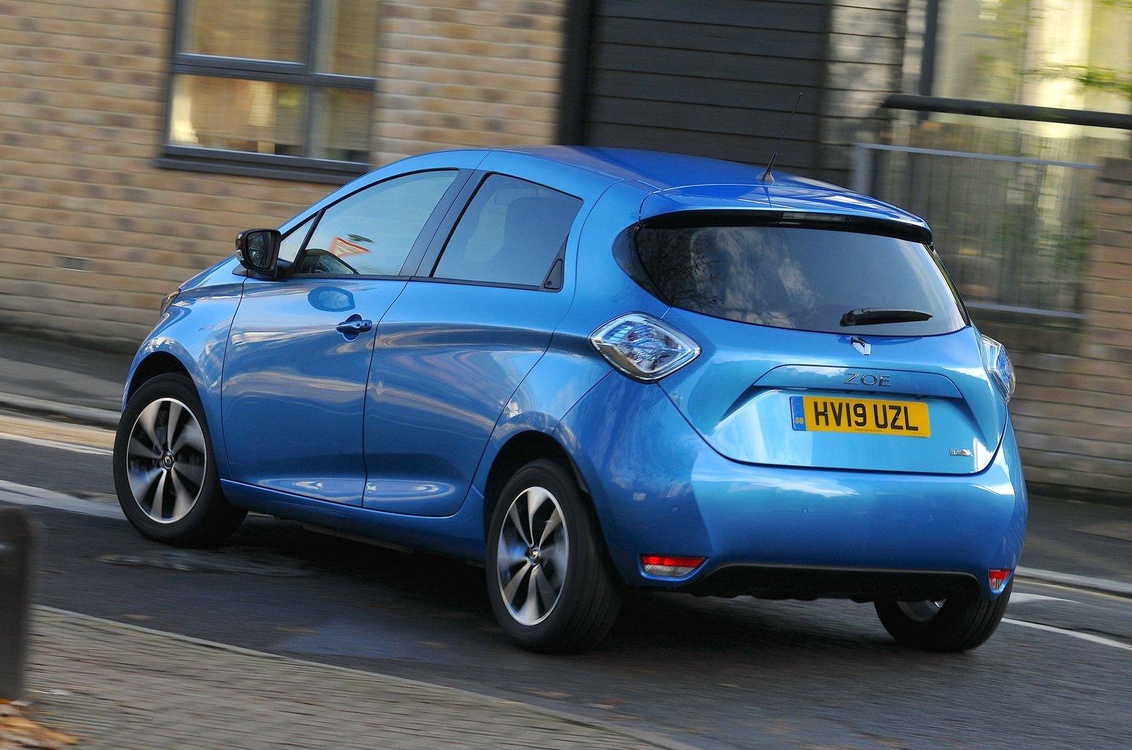 Renault Zoe rear - 19 plate