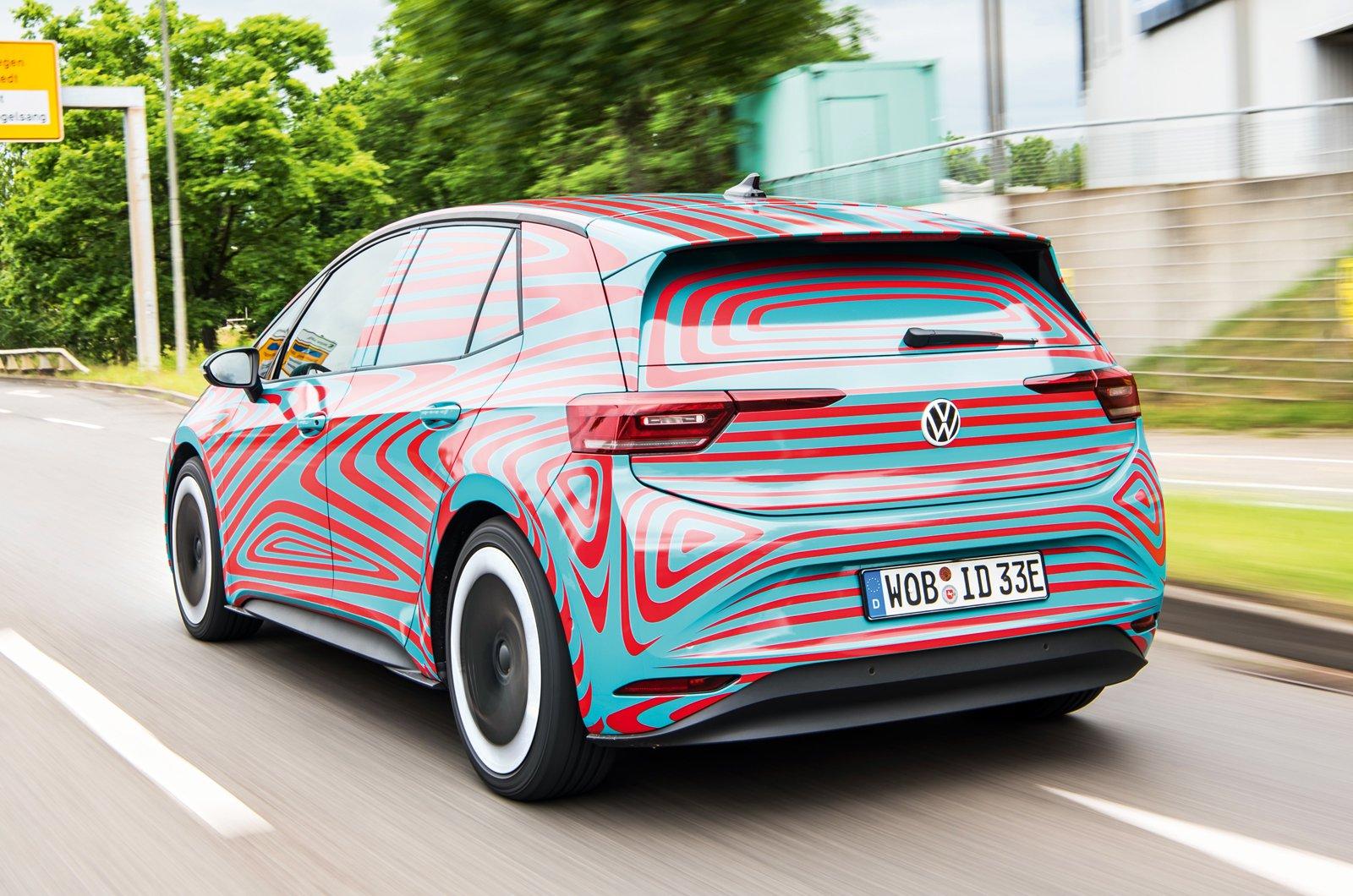 Volkswagen ID.3 prototype rear