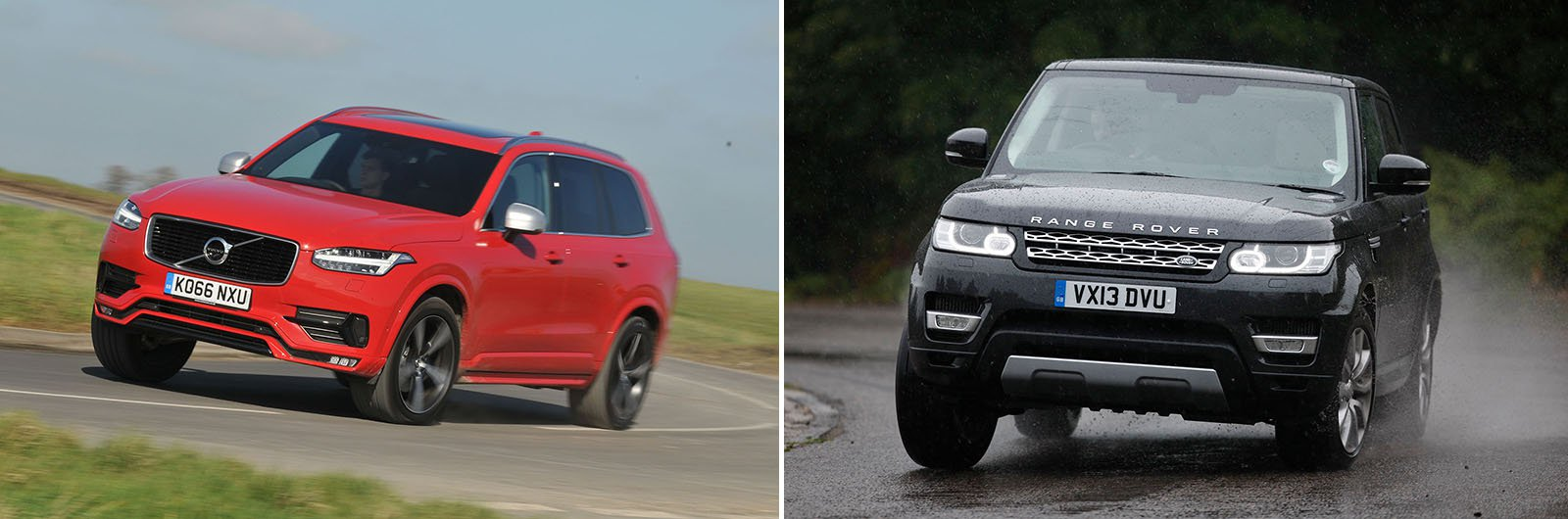 New Volvo XC90 vs used Range Rover Sport: which is best?