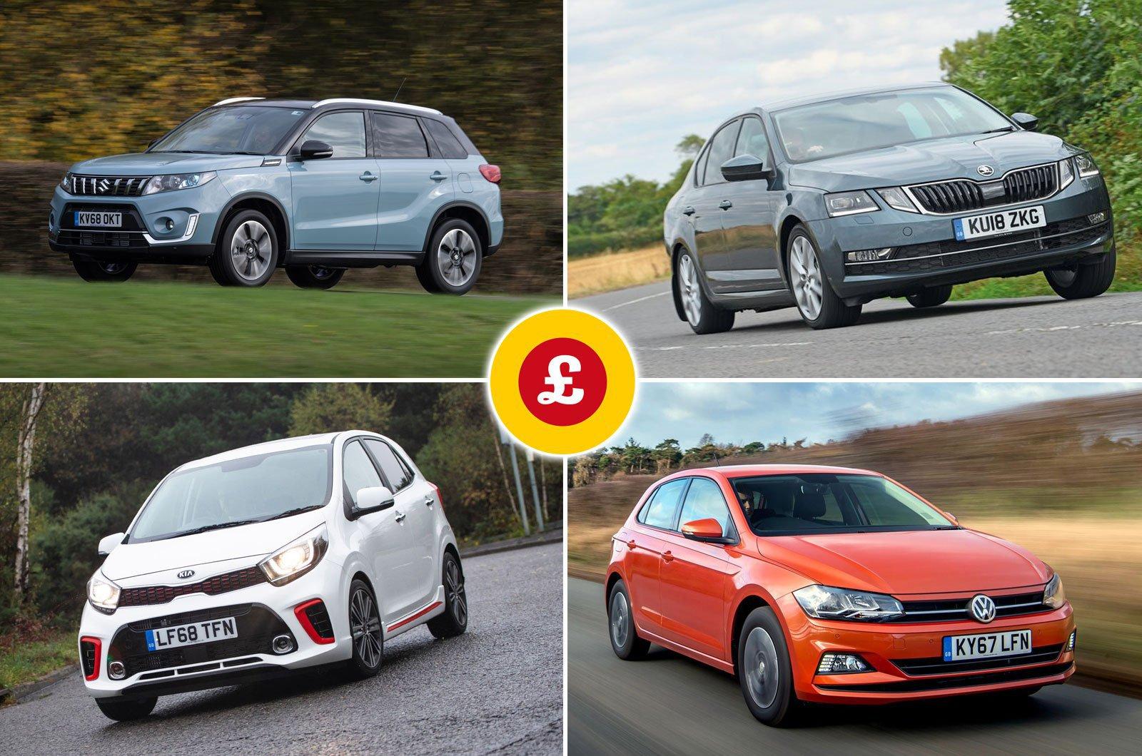 Volkswagen Polo, Skoda Octavia, Suzuki Vitara, Kia Picanto compilation image