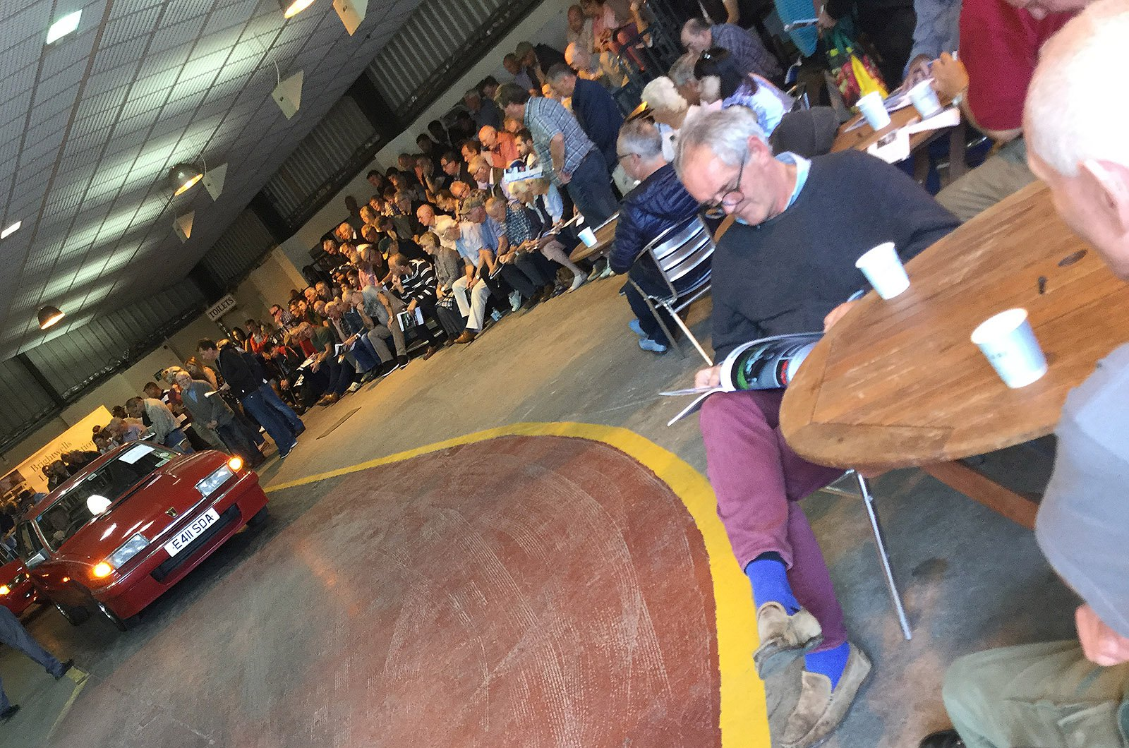 Red Rover SD1 being auctioned off
