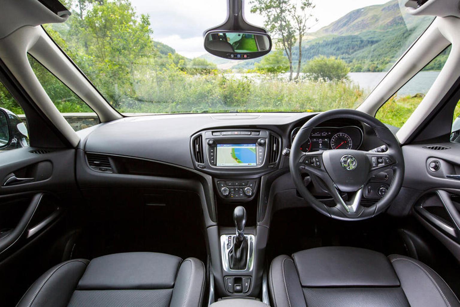 Vauxhall Zafira Tourer - interior