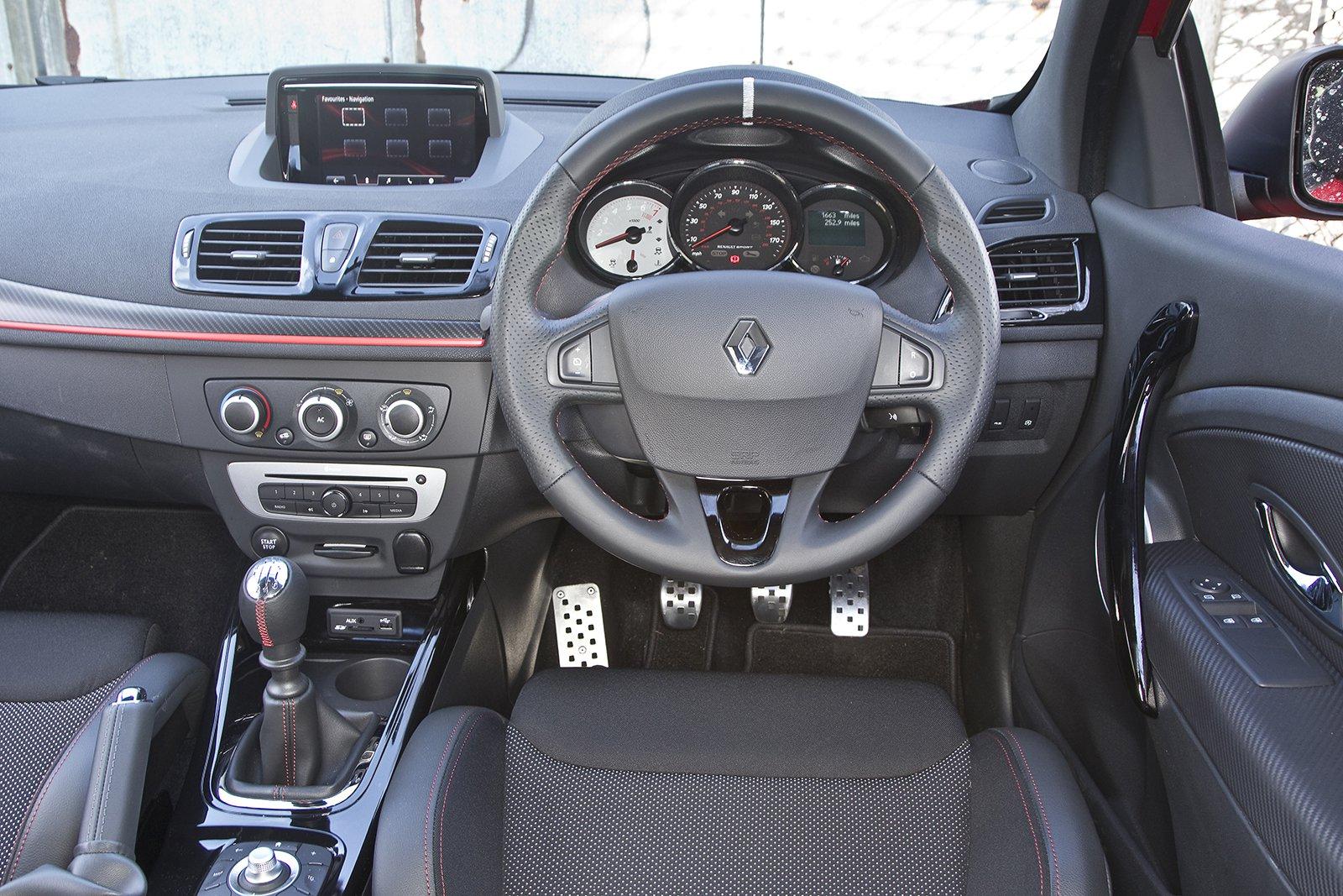 Renault Mégane RS - interior