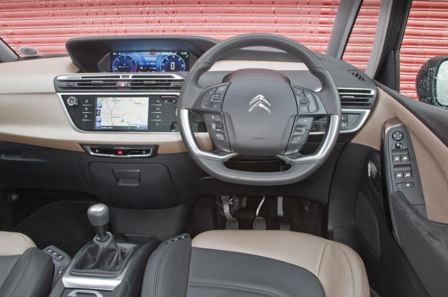 Citroën Grand C4 Picasso - interior
