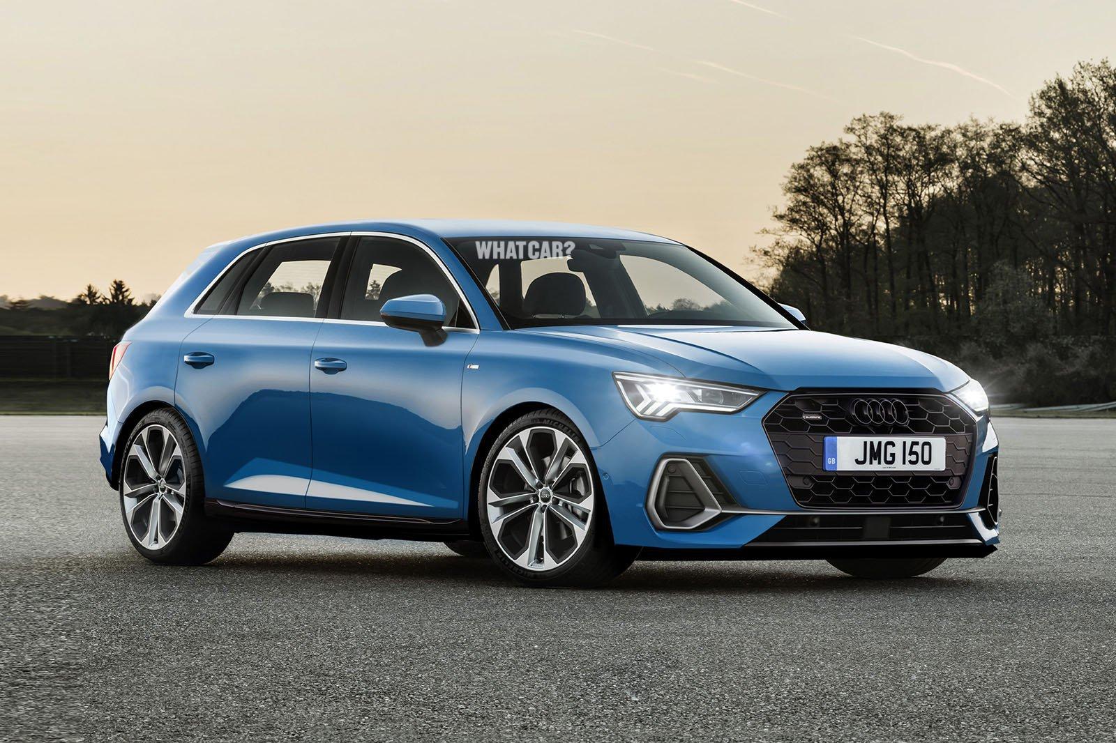 Audi A3 What Car? rendition