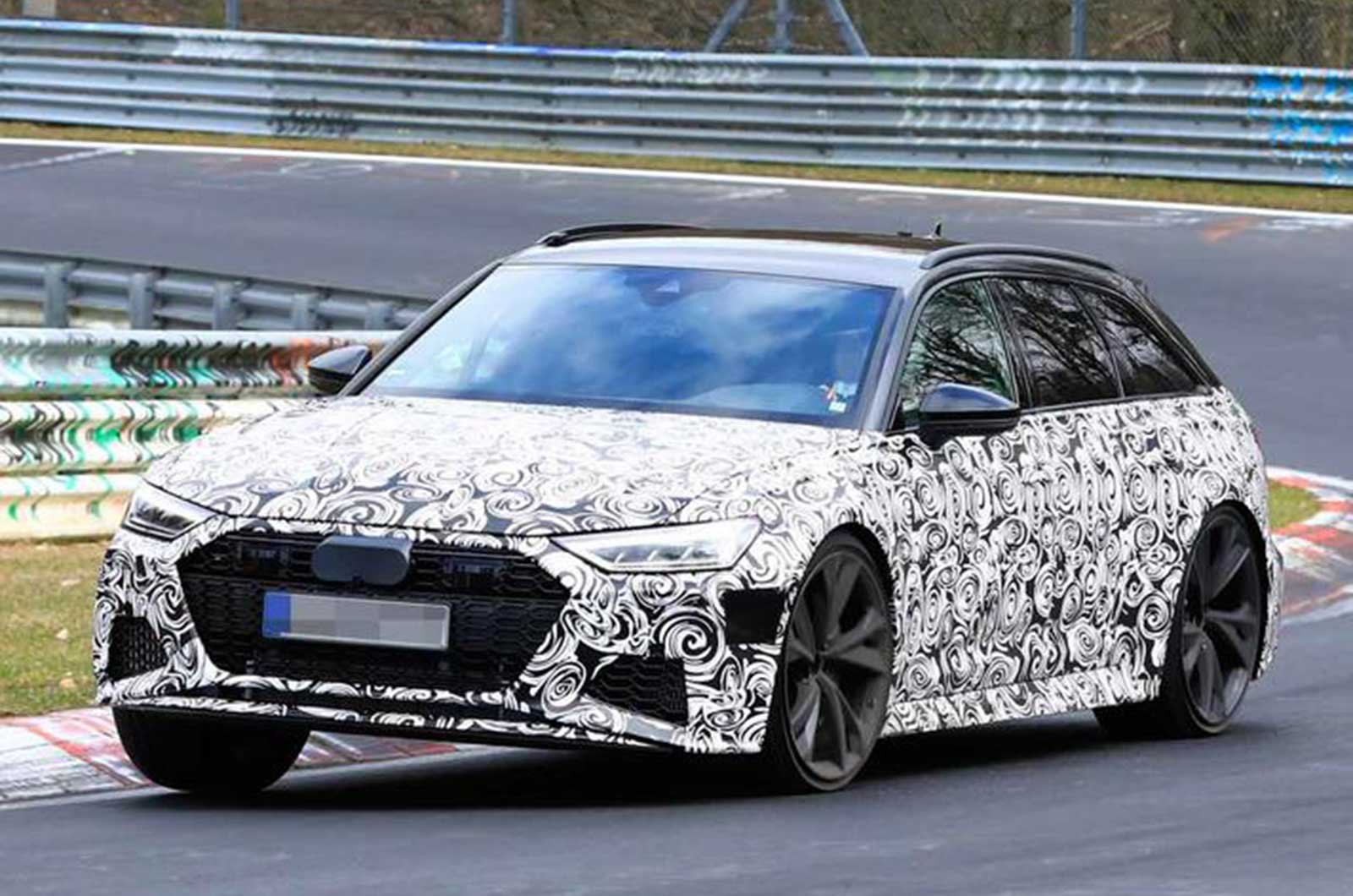 Audi RS6 and RS7 spy shot