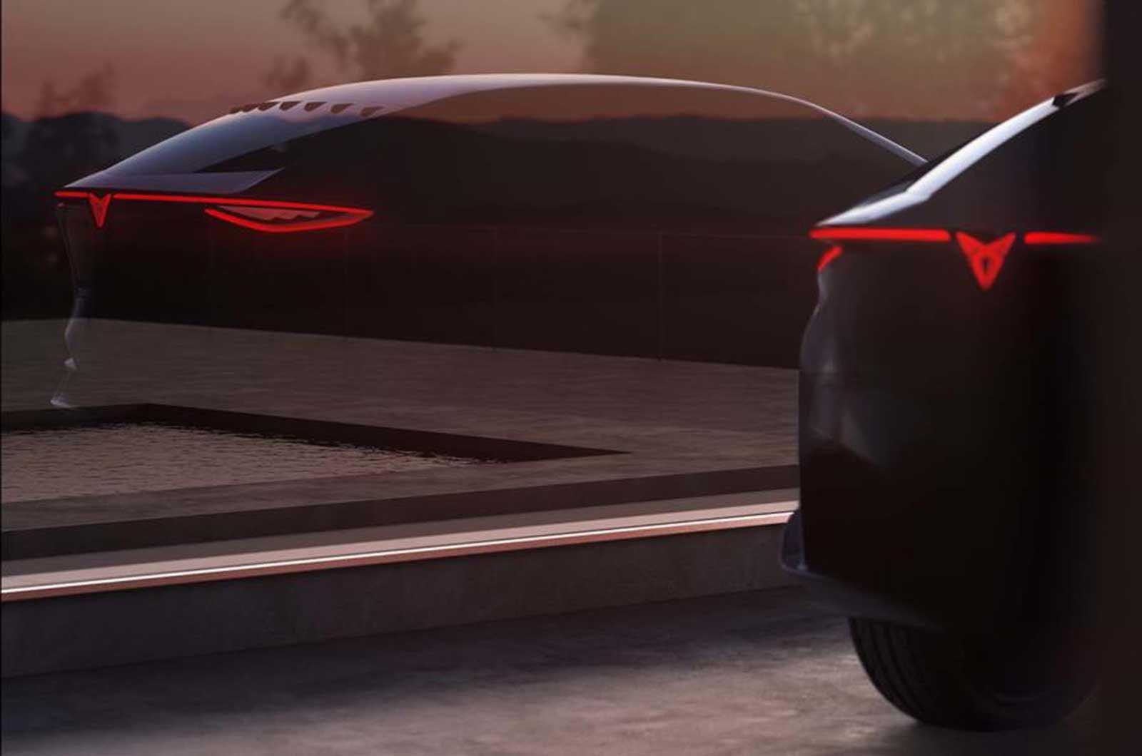 Cupra electric concept car