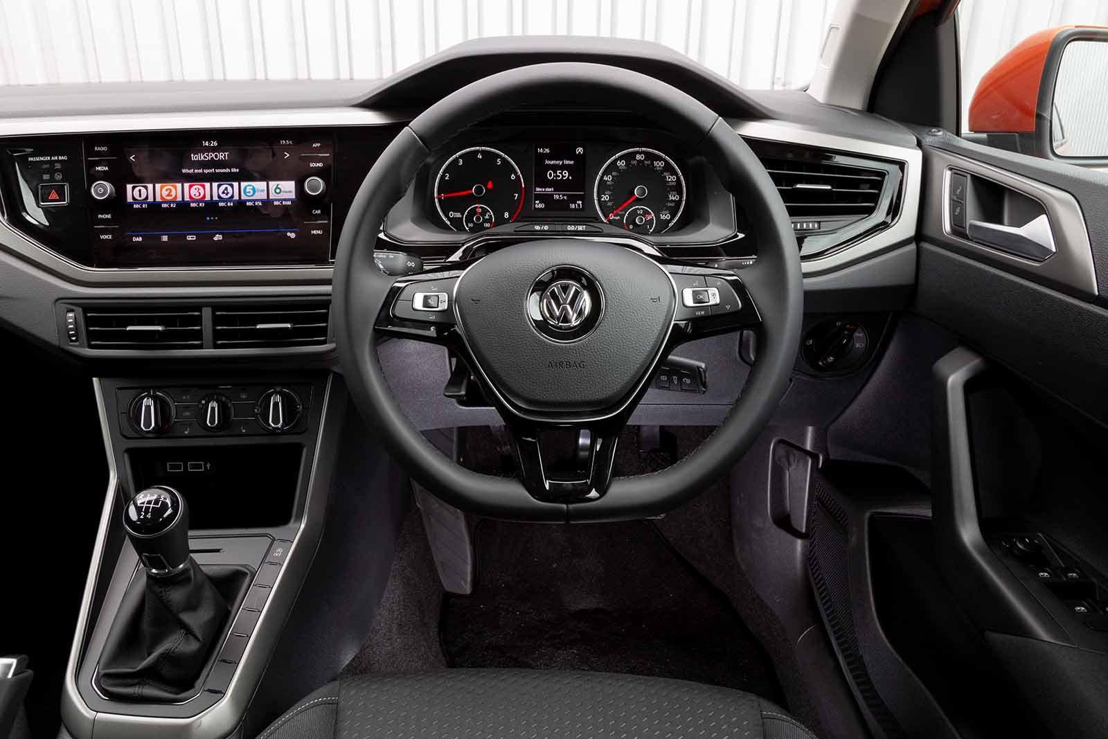 2019 Volkswagen Polo 1.0 TSI auto - interior