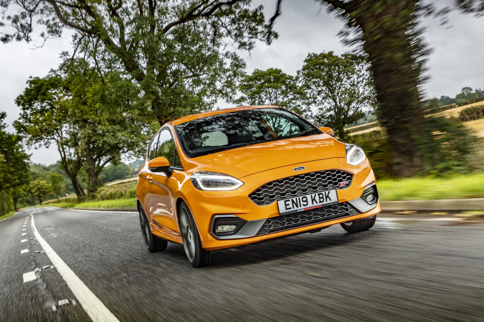 2019 Ford Fiesta ST Performance Edition driving