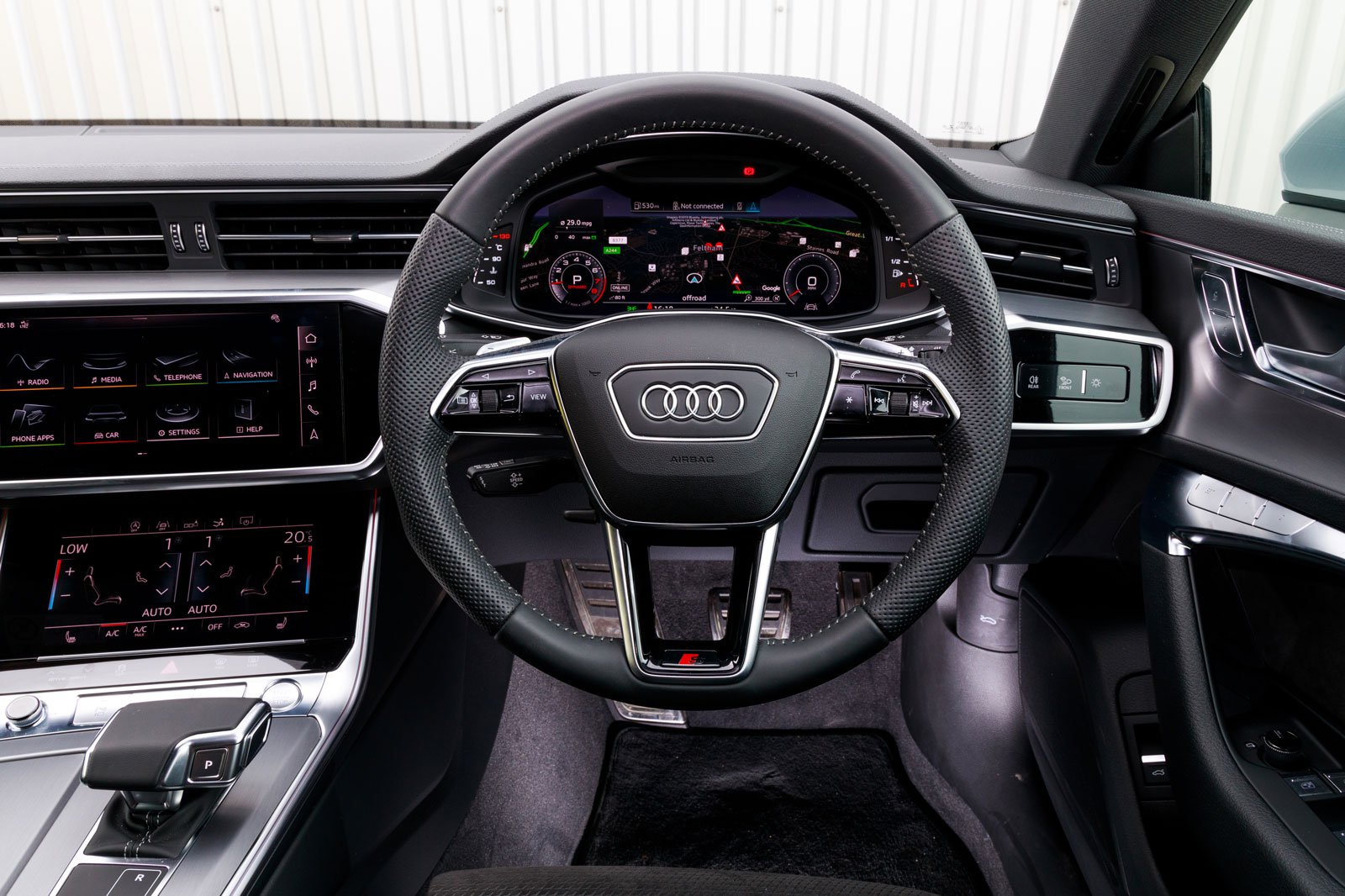 2019 audi a7 interior dashboard