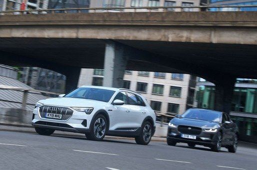 New Audi E-tron vs Jaguar I-Pace