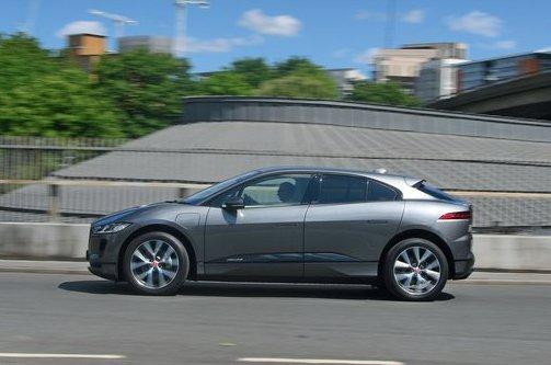 Jaguar I-Pace driving