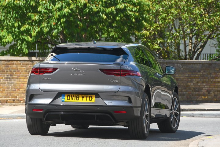 Jaguar I-Pace rear driving