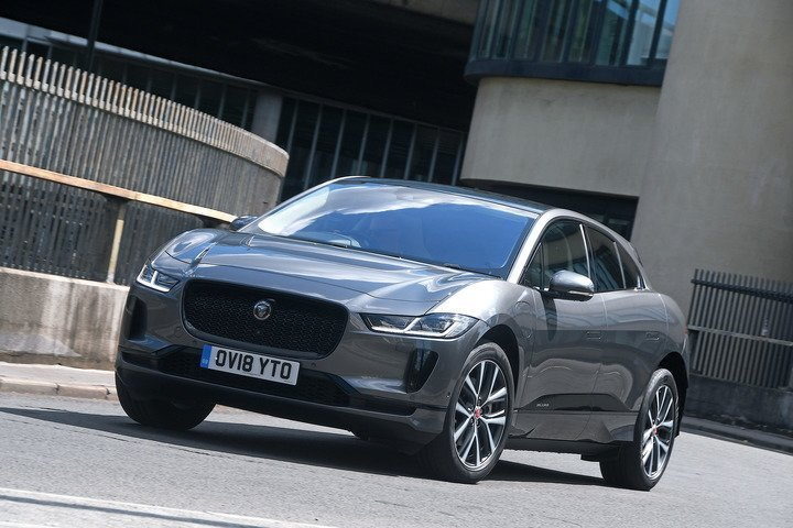 Jaguar I-Pace driving