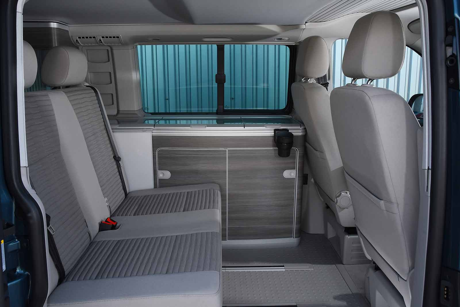 Volkswagen California 2019 RHD rear seats