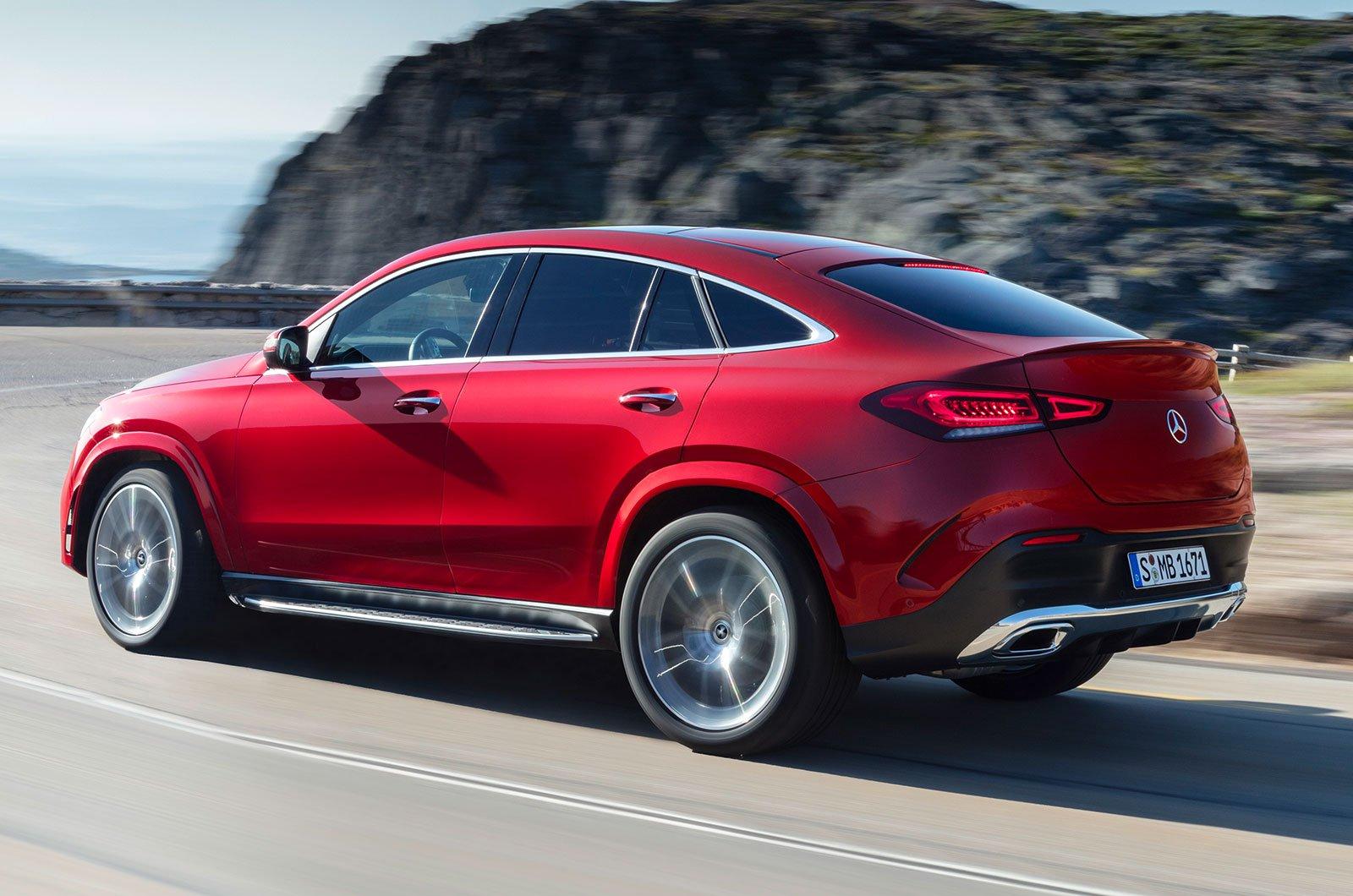 Mercedes GLE Coupé rear