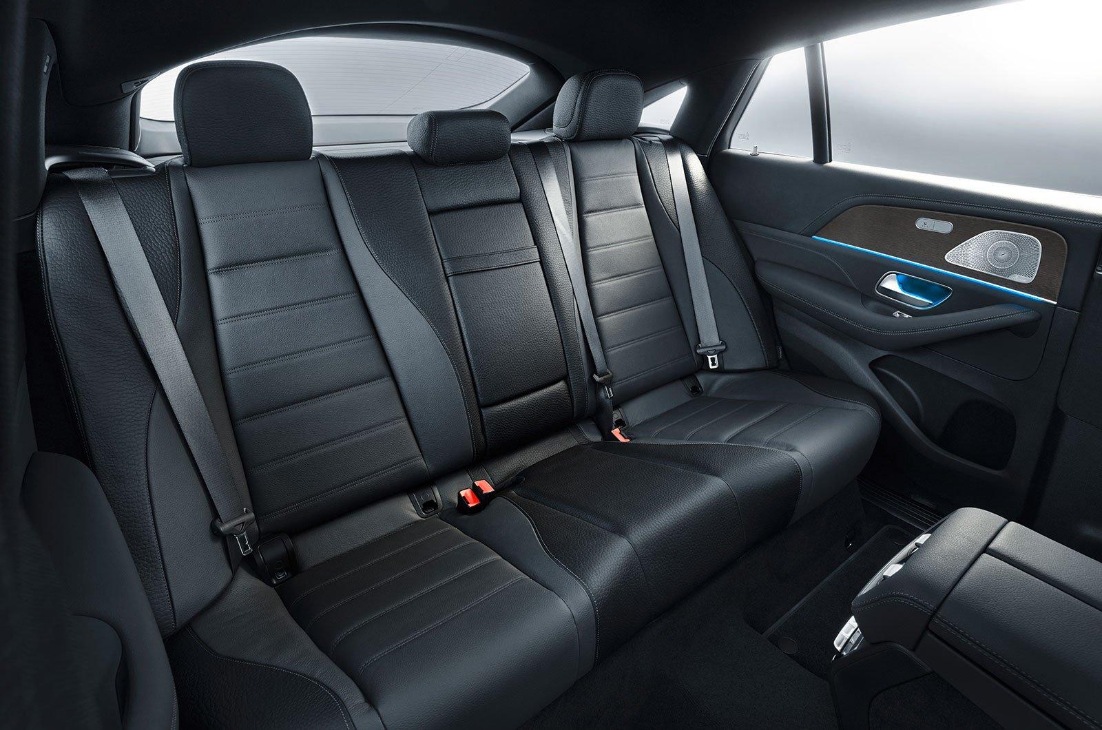 Mercedes GLE Coupé rear seats