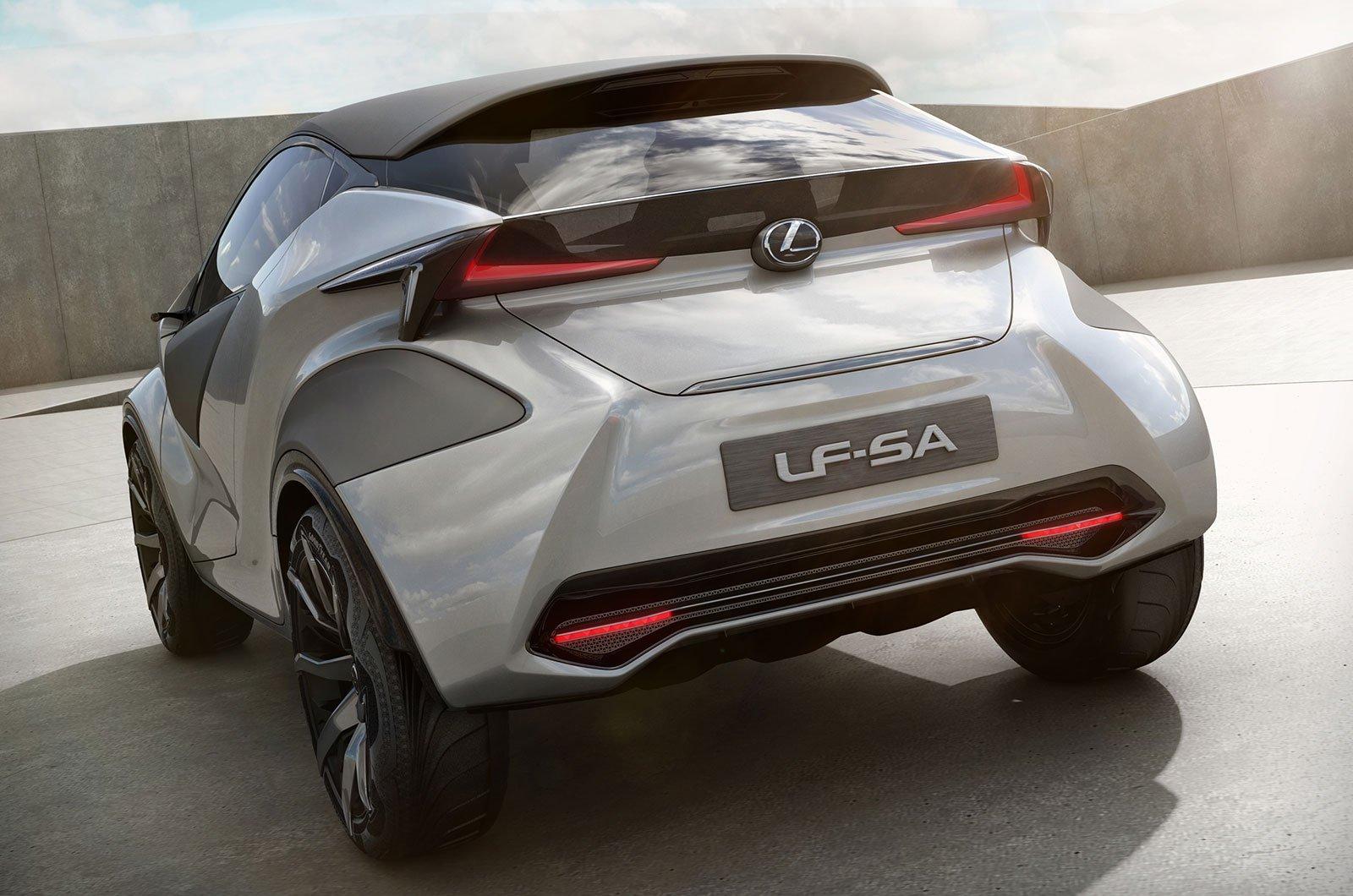 Lexus LF-SA concept rear
