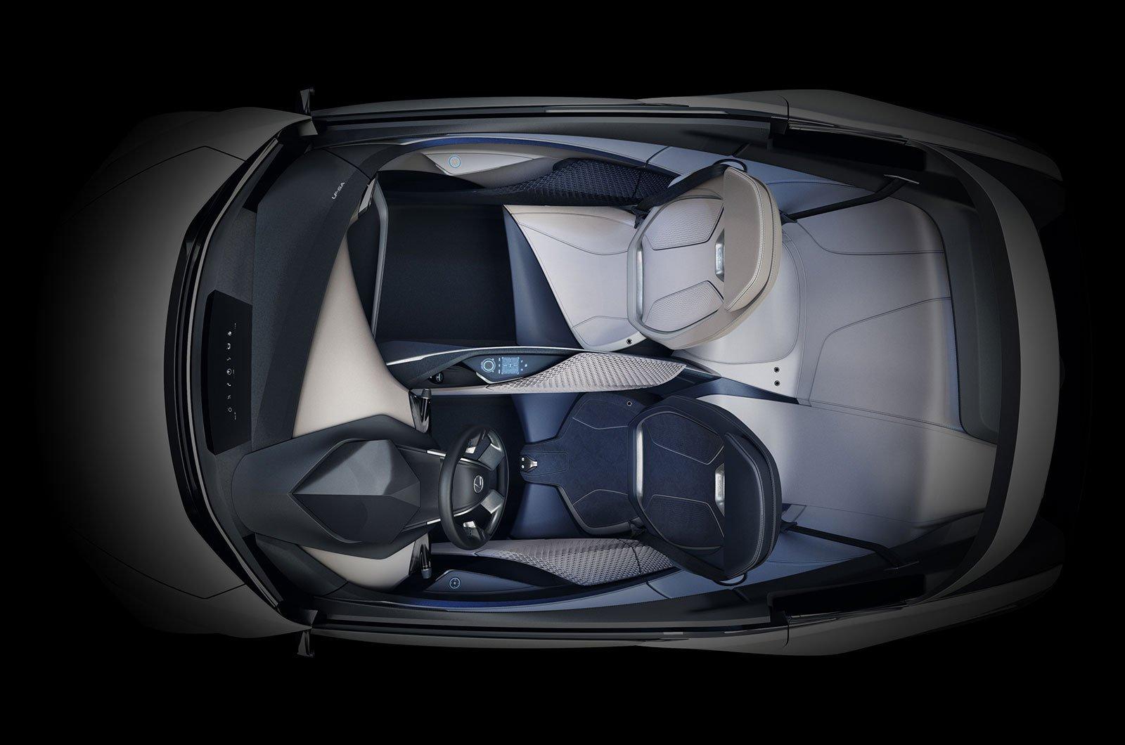 Lexus LF-SA concept interior
