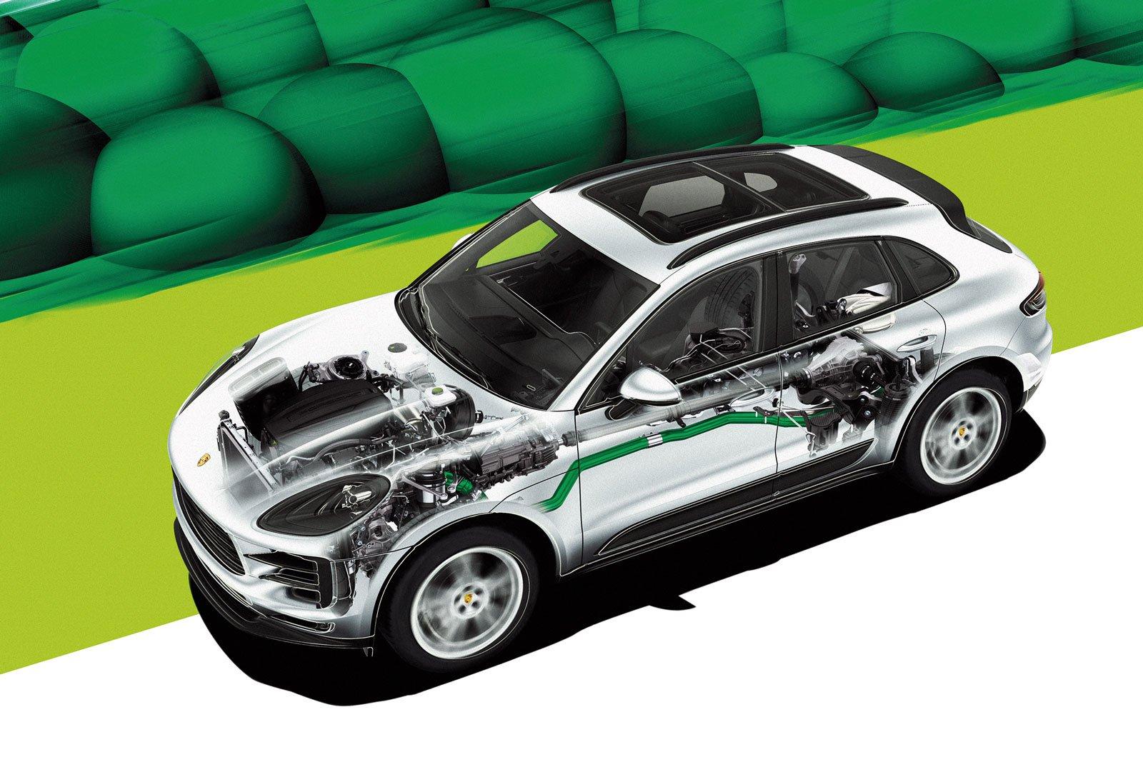 petrol particulate filter
