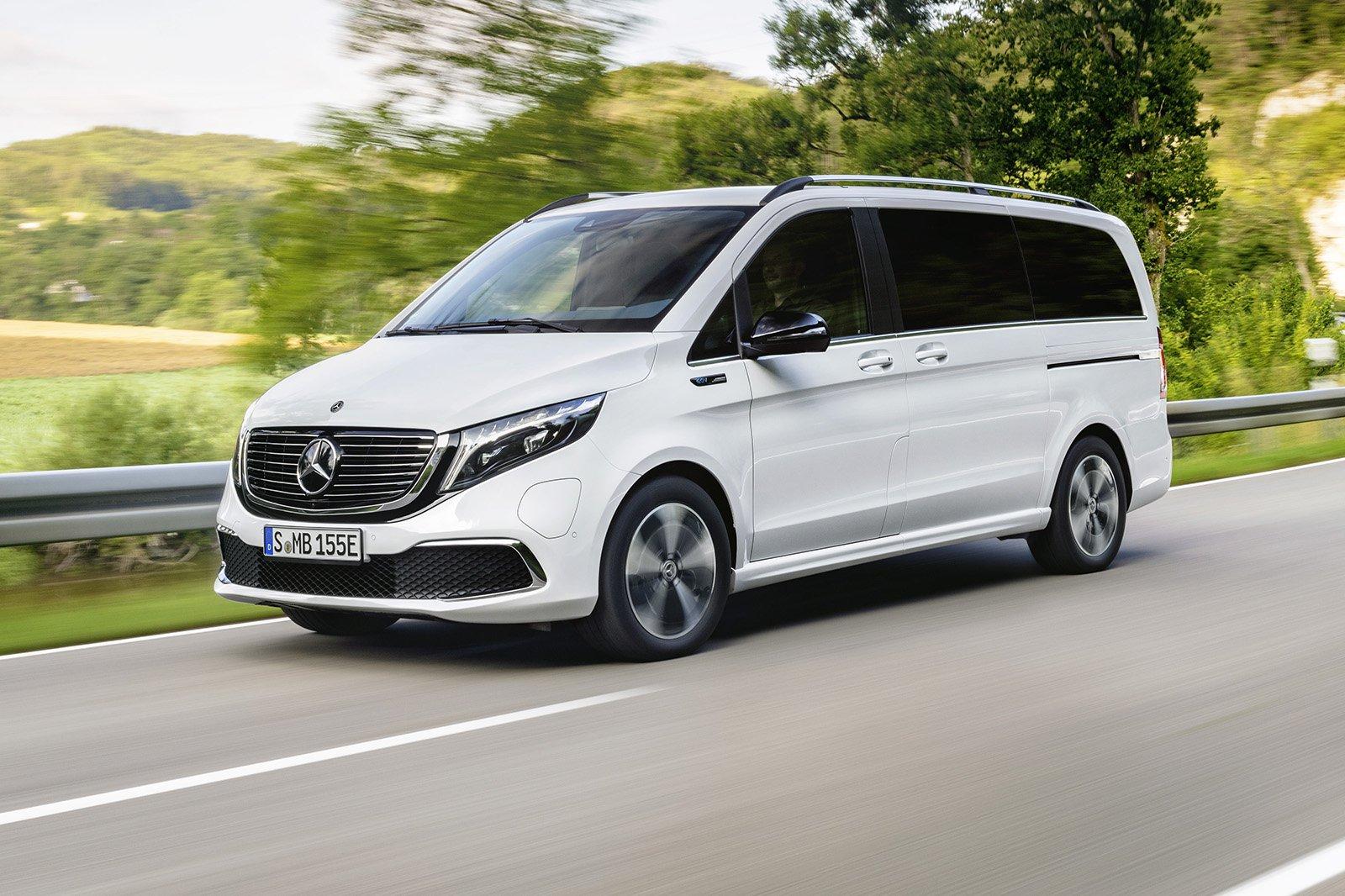 Mercedes EQV front