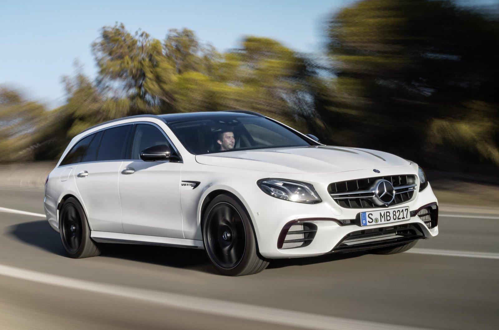 Mercedes-AM6 E63 S Estate front