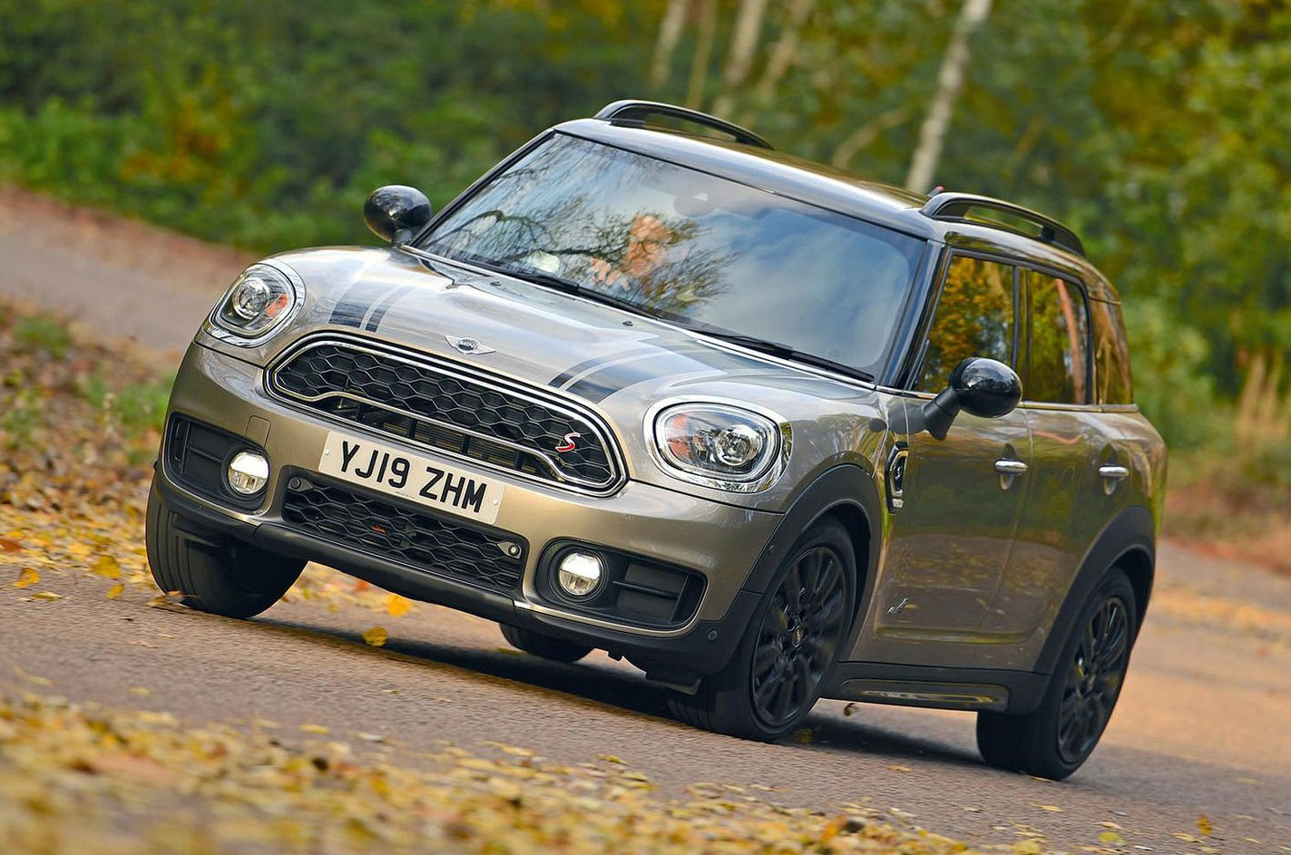 Mini Countryman front - 19 plate
