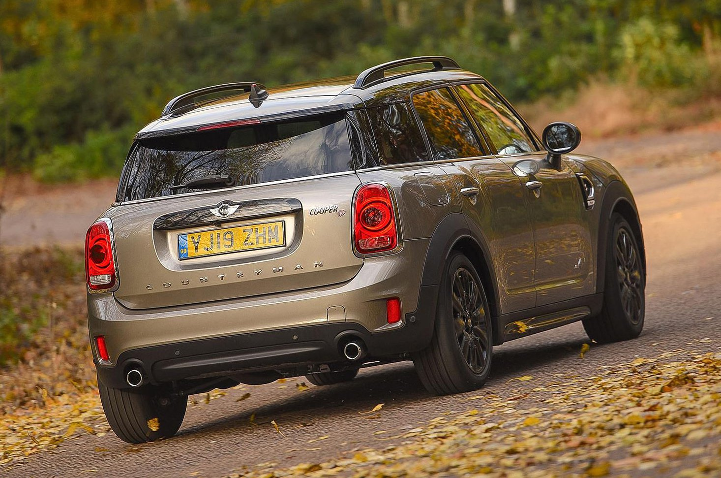 Mini Countryman rear - 19 plate