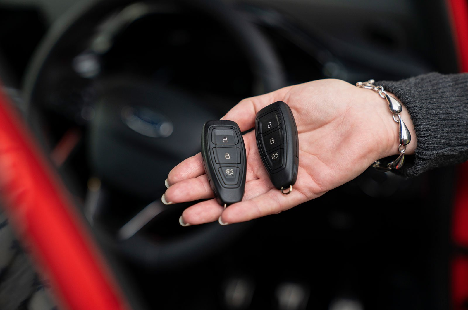 Keyless car crime