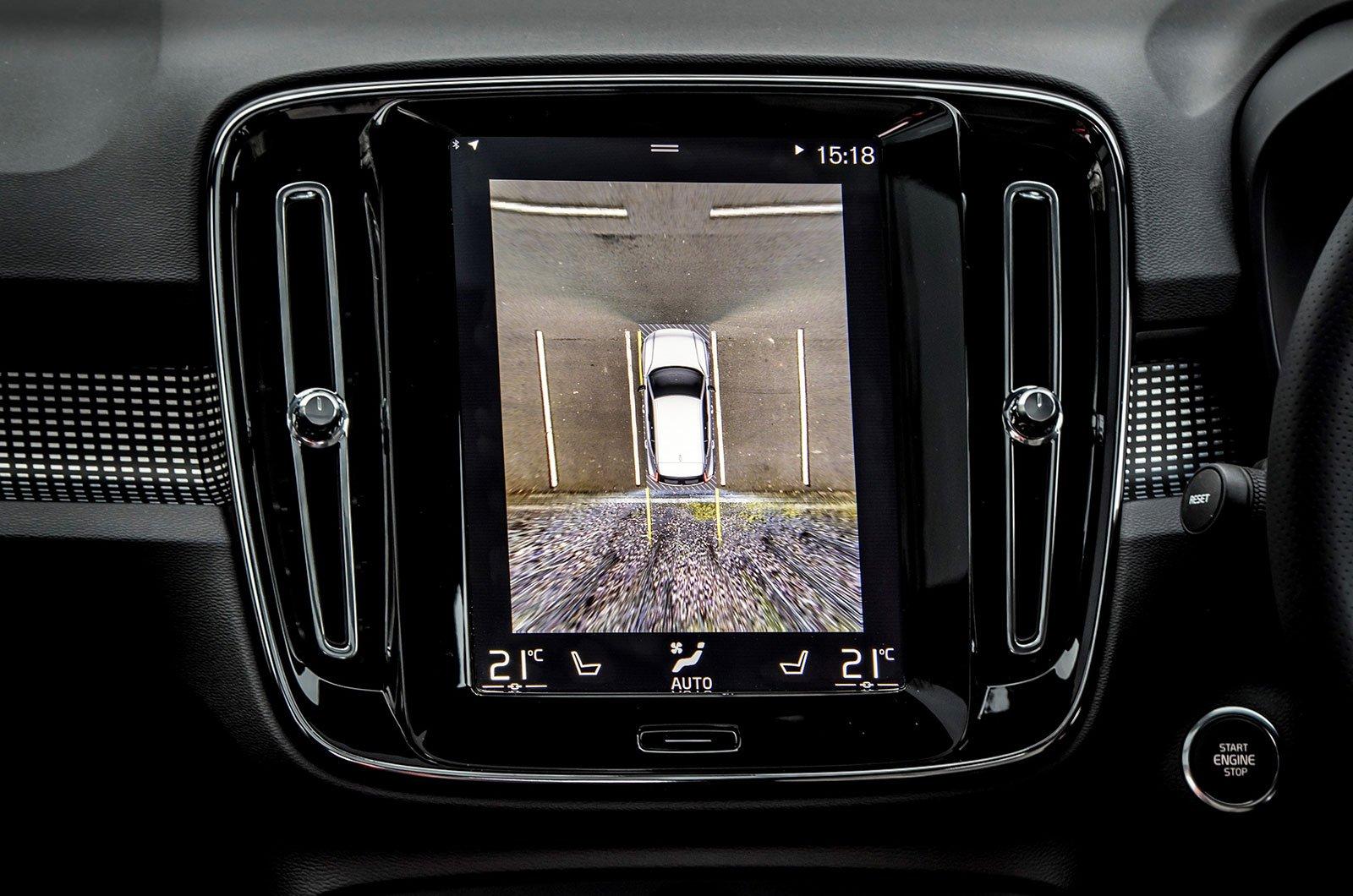 Volvo XC40 reversing camera