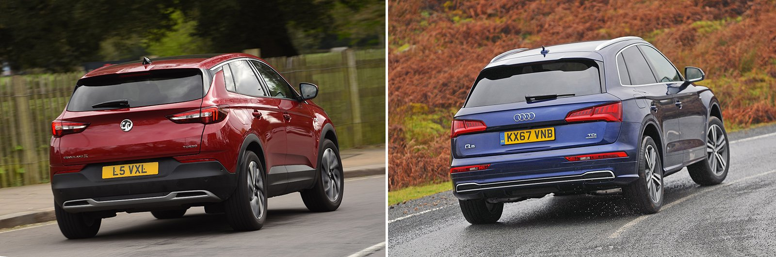 New Vauxhall Grandland X vs used Audi Q5: which is best?