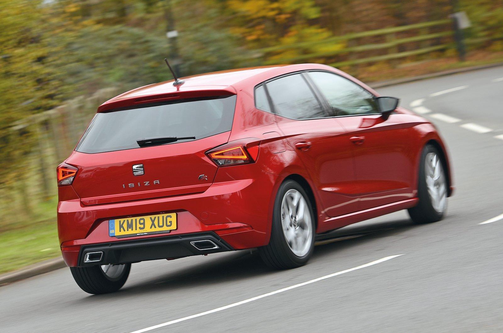 Seat Ibiza rear - 19 plate