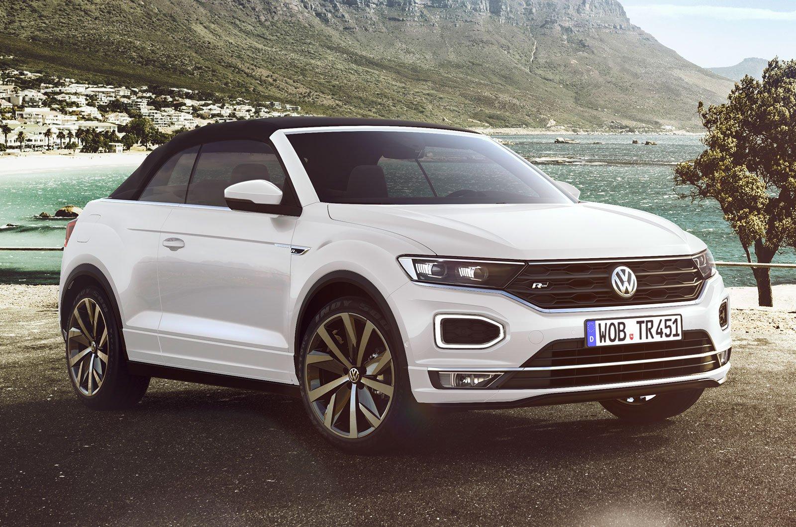 Volkswagen T-Roc Convertible front