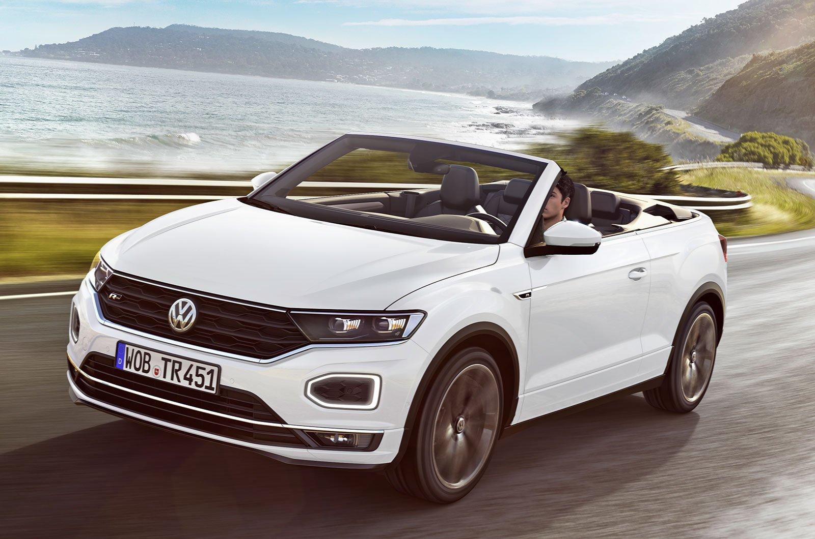 Volkswagen T-Roc Cabriolet front