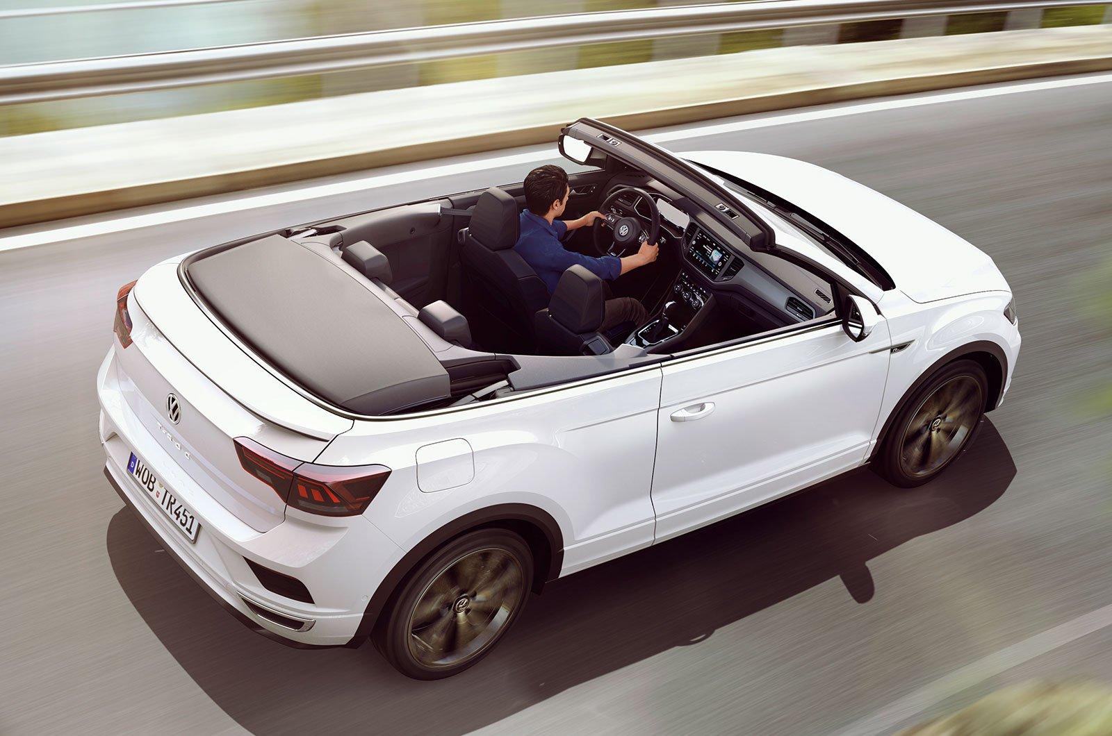 Volkswagen T-Roc Cabriolet rear