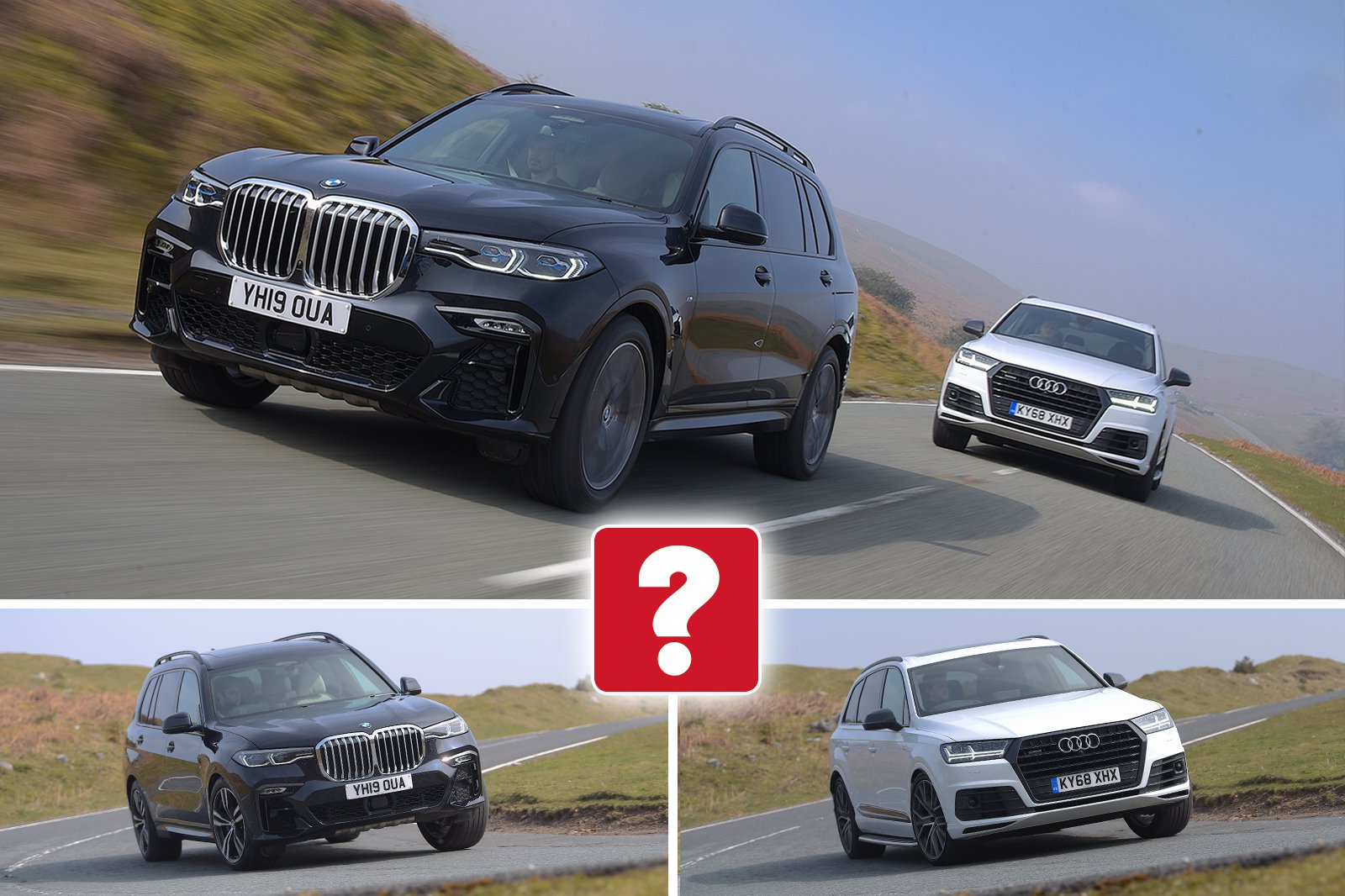 New BMW X7 vs Audi Q7
