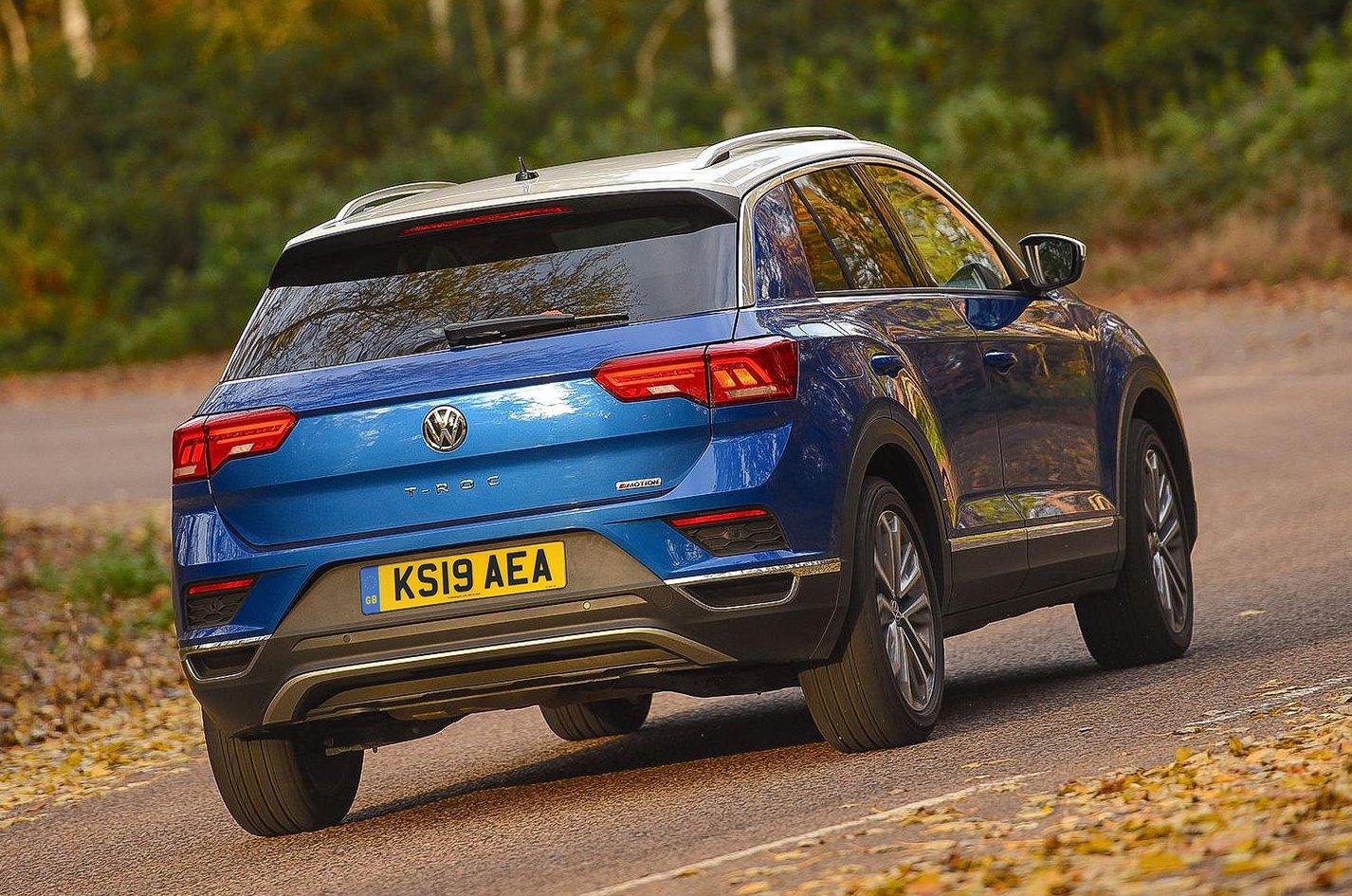 Volkswagen T-Roc rear - 19 plate
