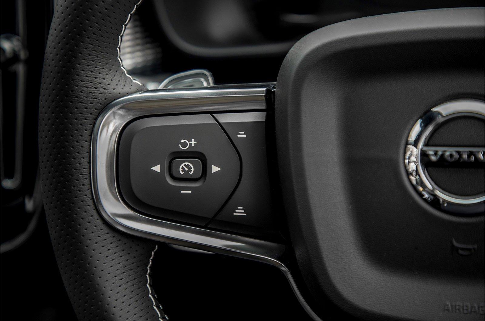 Volvo XC40 adaptive cruise control