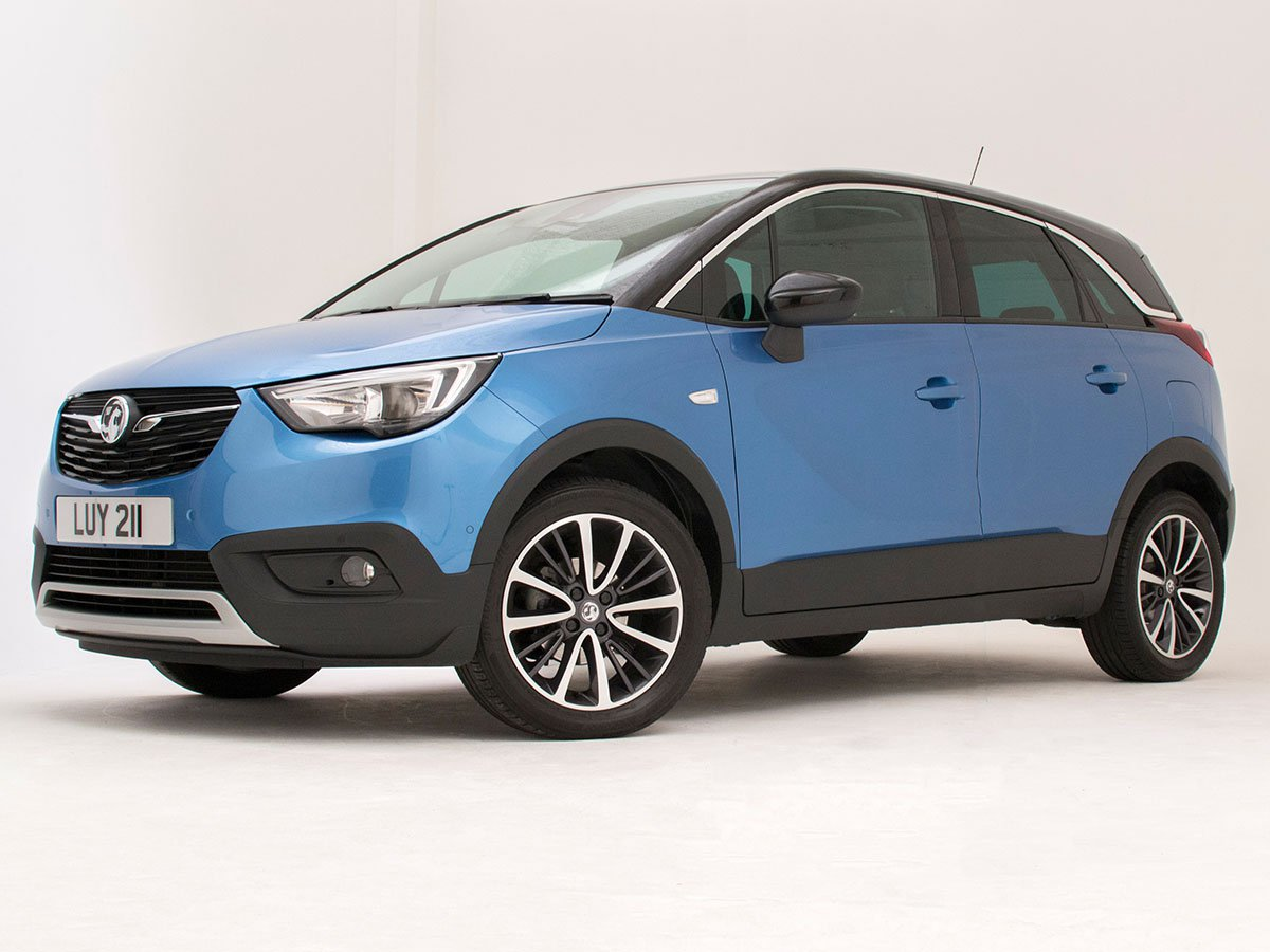 The Vauxhall Crossland X is packed with high-tech features that make driving easier and safer