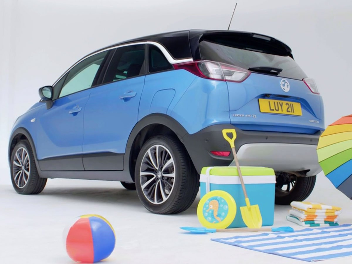 The Vauxhall Crossland X has been designed to be spacious, practical and comfortable enough for every family journey