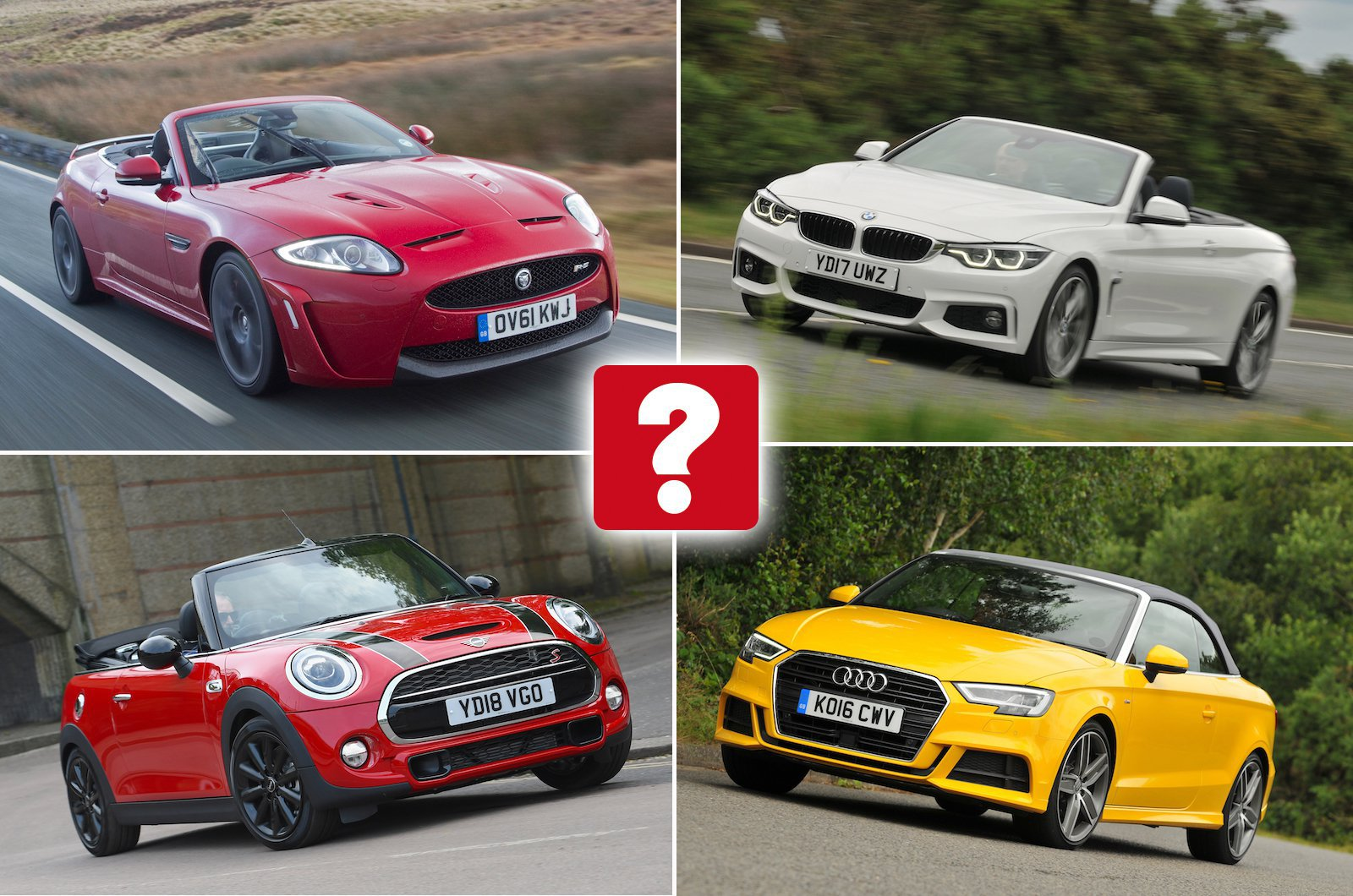 Convertible cars compilation image