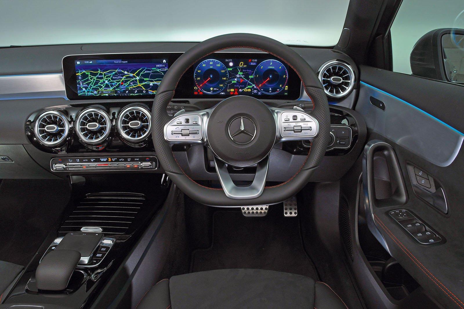 Mercedes A-Class A180d Sport Executive auto - interior