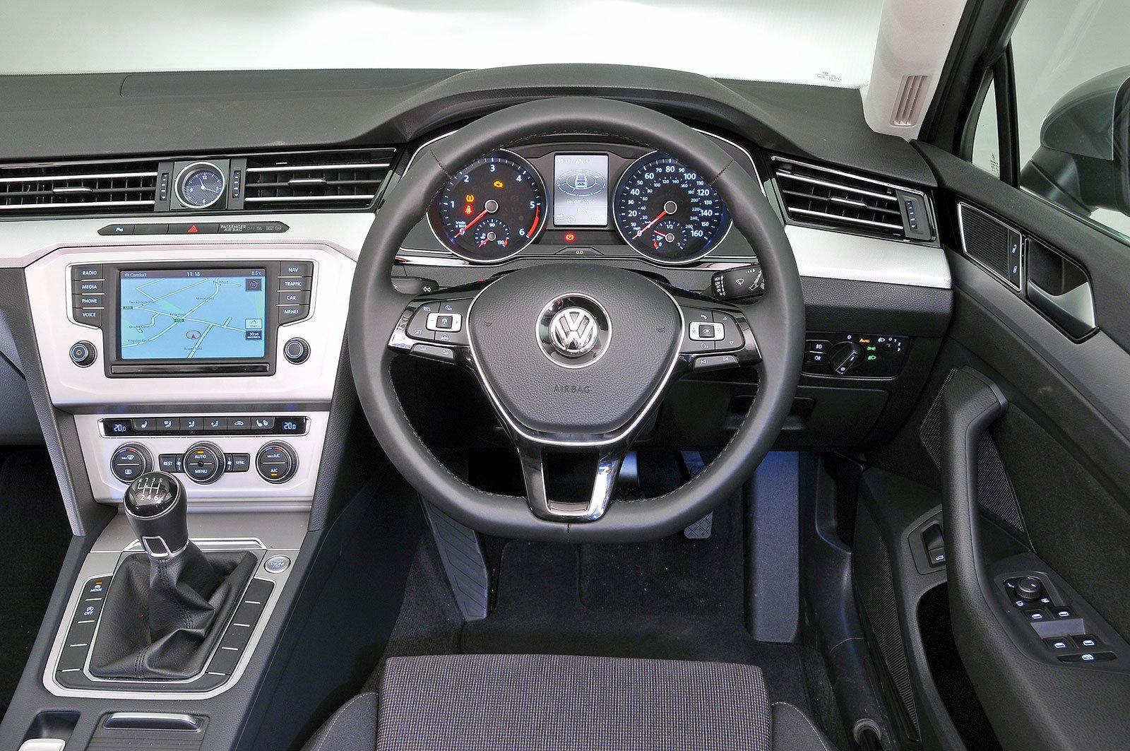 Volkswagen Passat Estate (2015-present) - interior